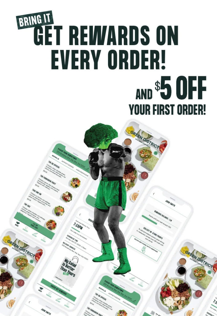 Get Rewards on Every Order